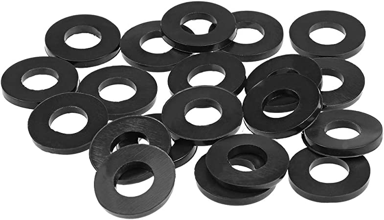 20mm Inner Diameter 30mm OD 2.3mm Thick 20pcs uxcell/® Rubber Flat Washers