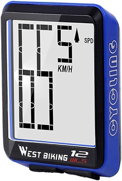 HFXZ2018 Bicicleta velocímetro del odómetro, código de Ordenador ...