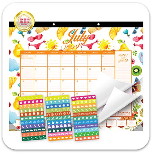 Desk Calendar 2019, Large Monthly Page (22