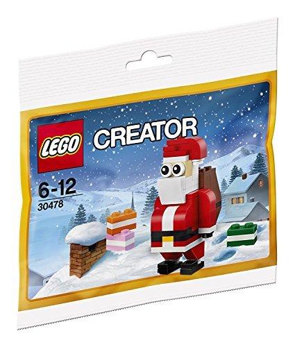 (LEGO Creator 30478 Jolly Santa Christmas Polybagged 74 Piece Set)