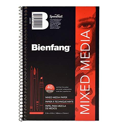 Bienfang 220100 Mixed Media Paper Pad, 5.5
