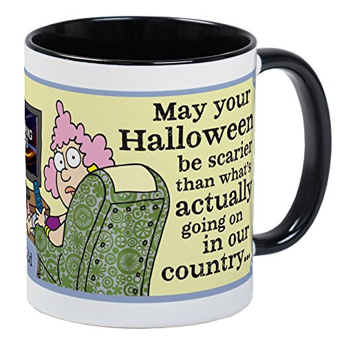 CafePress - Aunty Acid: Halloween In Our Country Mug - Unique Coffee Mug, Coffee Cup