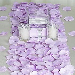 BalsaCircle 4000 Lavender Silk Artificial Rose Petals Wedding Ceremony Flower Scatter Tables Decorations Bulk Supplies Wholesale