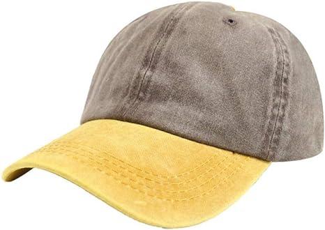 Gorra de béisbol Gorra de béisbol lavada Hombres Mujeres Tendencia ...