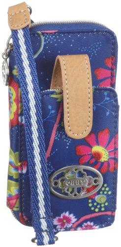 Oilily - Bolsa de viaje de poliuretano mujer azul - Blau/Blue / White