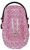 ByBUM - Funda de verano / funda hecha de 100% algodón, funda universal para portabebés (Moisés) con un moderno diseño, asiento de coche, por ejemplo, Maxi-Cosi; PATRÓN