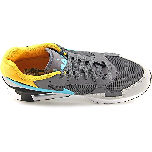 Nike Heren Air Max St Enkelhoge Leren Sportschoen Donkergrijs / Stoffig Cactus-wlf Spel