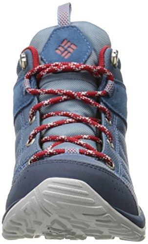 Columbia Dame Brand Venture Midten Tekstil Udendørs FitnessSko Blau (stål, Raket 413)