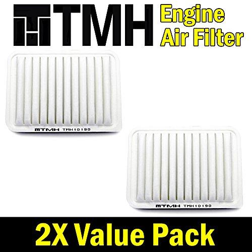 ( Pack of 2 ) TMH® TMH10190 GP190 ( CA10190 ) Premium Rigid EXtra Guard Panel Engine Air Filter