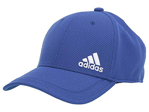 (adidas Men's Release Stretch Fit Structured Cap, Collegiate Royal/White, Large/X-Large)