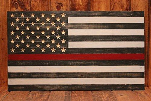 Thin Red Line Flag - Twiggy Thin