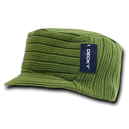 DECKY Flat Top Jeep Cap, Olive - Acrylic Jeep Cap Shopping Results