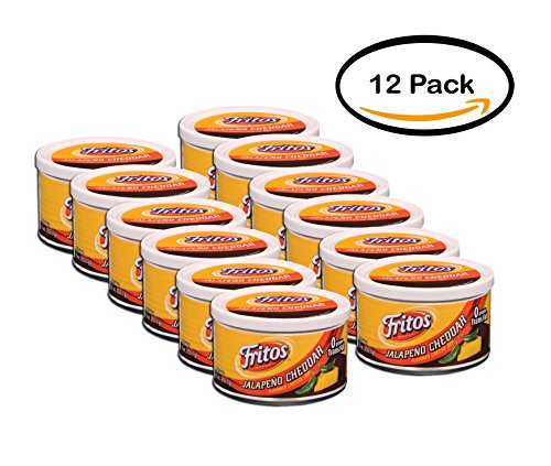 - PACK OF 12 - Fritos Jalapeno Cheddar Flavored Cheese Dip, 9 oz