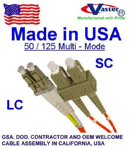 superecable – 1000 ft LC / SCマルチモードデュプレックスom2 50 / 125光ファイバケーブル – ケーブル外径3.0 MM – MADE IN USA – TAA準拠 B01N4RFSWF