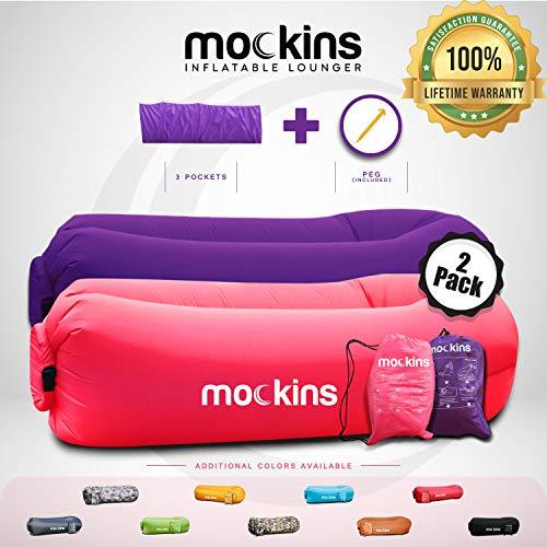 Mockins 2 Pack Pink