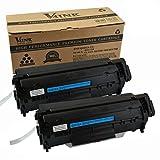 V4INK 2-Pack Q2612A Toner Cartridge