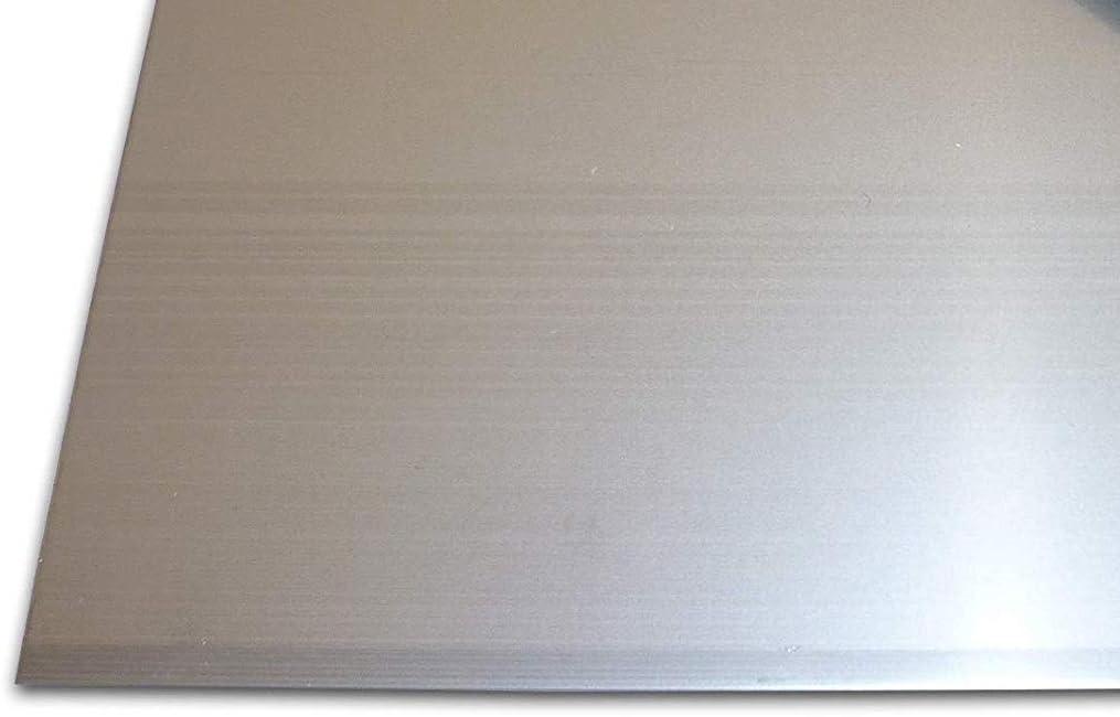 1 mm roh A2 - AISI304, 50x50 mm/² Scherenschnitt AISI304 oder A4 in verschiedenen Gr/össen A2 Edelstahlblechzuschnitt AISI316