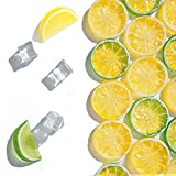 50 pcs Fake ice Cubes Artificial Lemon Slices and