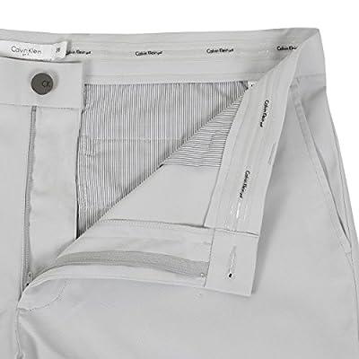 Calvin Klein Golf Men's Dupont Shorts, Silver, 42