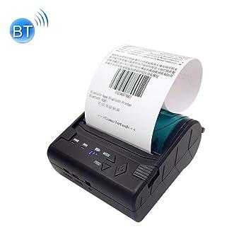 Impresora portátil Impresora, POS-8003 portátil térmica Bluetooth ...