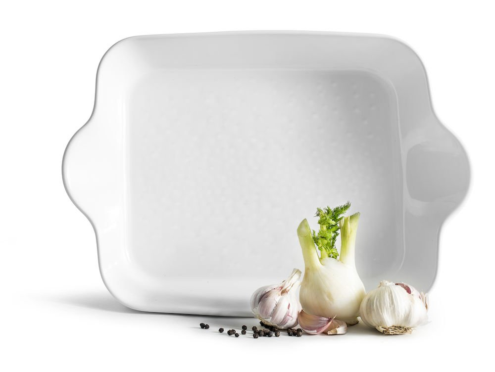 Sagaform 5017728 Piccadilly oven dish rectangular, white,