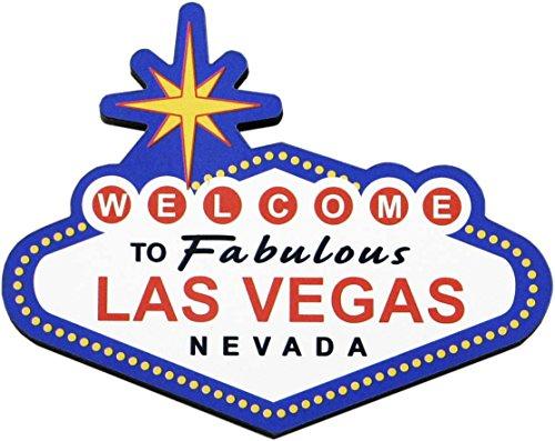 Welcome To Las Vegas Souvenir Refrigerator Magnet