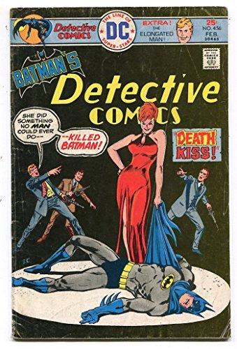 Detective Comics 456 VG Batman 1937 Dc Comics CBX1U