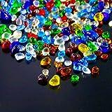 Hilitchi Glass Stones Tumbled Chips Stone Crushed