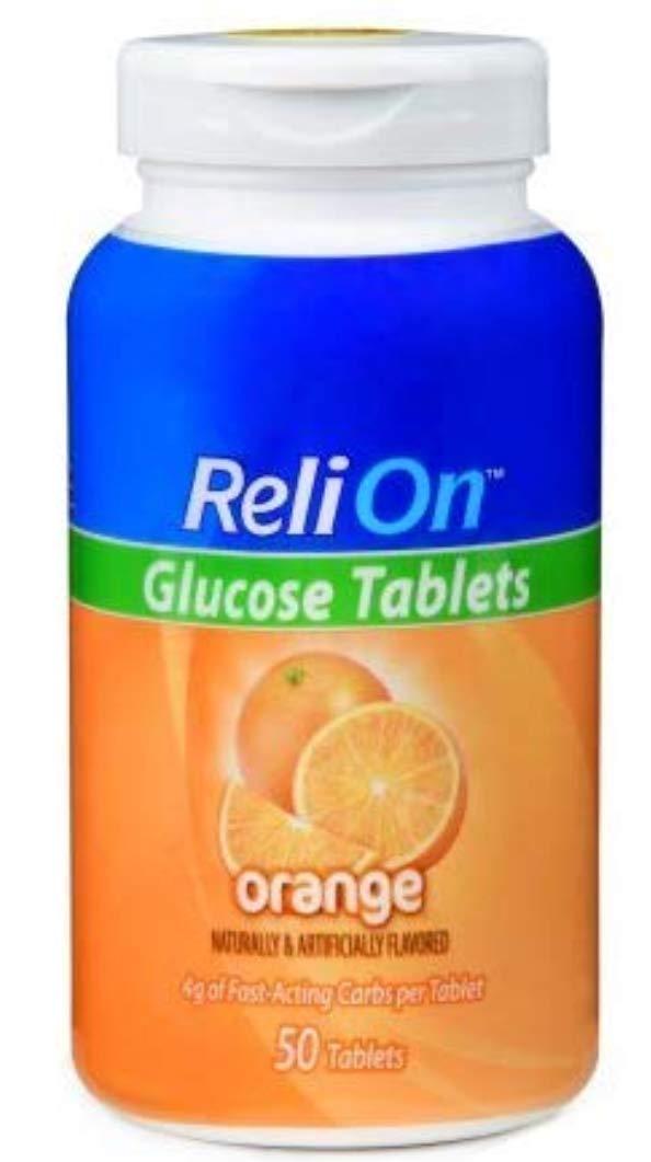Amazon.com: ReliOn - Pastillas de glucosa (frutas tropicales ...