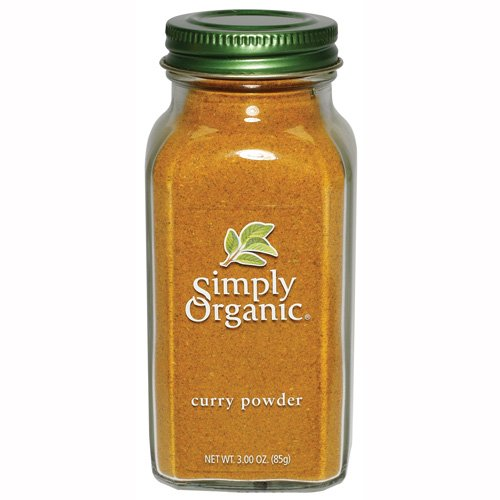 Simply Organic Curry Powder Certified Organic, 3-Ounce Bottles (Pack of 3) by Simply Organic