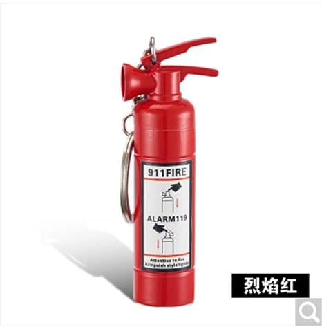 baijuxing Extintor de Incendios Colgante de Llavero Colgante ...