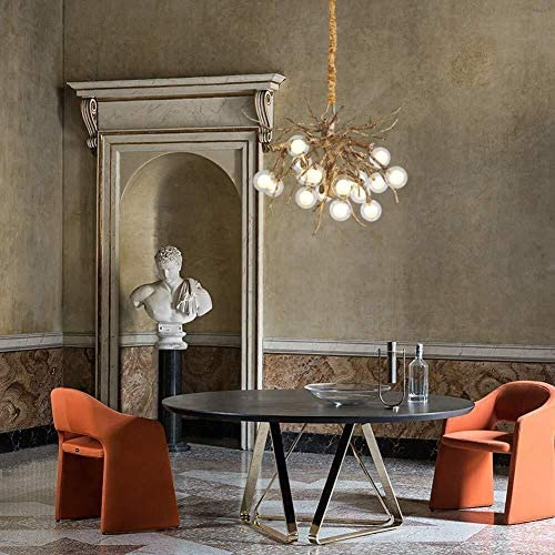 DBL Nordic Postmodern Chandelier Creative Personality Retro Art Restaurant Living Room Studio Hotel Engineering Chandelier chandelier