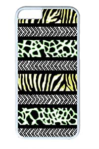 Brian114 Leopard Grain Design Of Individual Character Vogue 9 Phone Case for the iPhone 6 Plus White