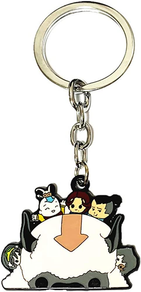 Family Babylon Avatar The Last Airbende Appa Keychains Gifts for Men woman girl