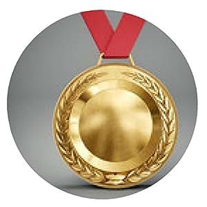 alfombrilla de ratón medalla - ronda - 20cm
