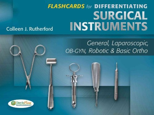 Flashcards for Differentiating Surgical Instruments: General, Laparoscopic, OB-GYN, Robotic & Basic Ortho