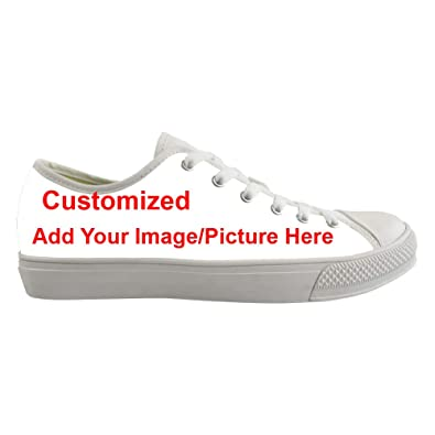 5763e6b222 Coloranimal Road Walking Low Top Lace-up Canvas Shoes Add Your Own Image  Customized Fashion