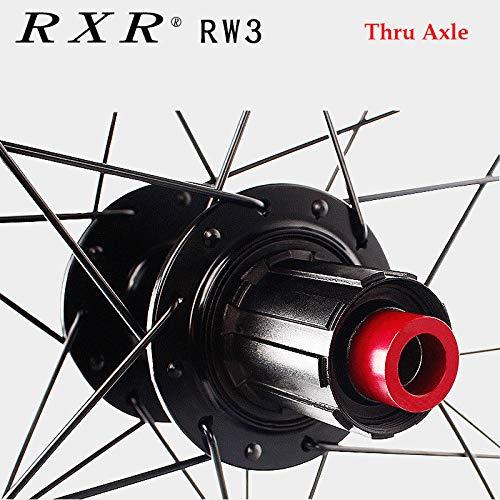 FidgetFidget 7-11 Speed QR/Thru Axle Mountain Bike Wheels 26/27.5/29'' Disc Brake MTB Wheelset 29'' Black Quick Release 1Pair Wheels by FidgetFidget (Image #5)