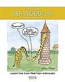 Widder 2018: Sternzeichen-Cartoonkalender
