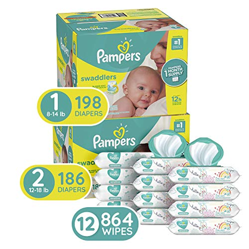 Pampers Baby Diapers and Wipes Starter Kit (2 Month Supply) ONLY $81.36 Shipped