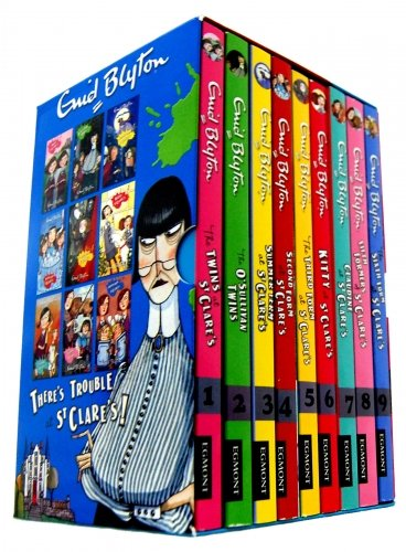 Download Enid Blyton St Clares Boxed Set 9 Books Collection Classic Childrens Books ebook
