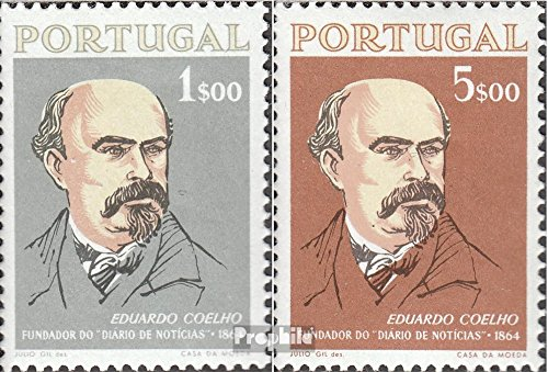 (Portugal 972-973 (Complete.Issue.) 1964 Newspapers (Stamps for Collectors))