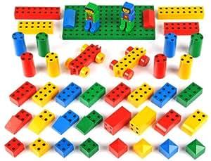 Klein 0654 -  Juego de construcción magnético para niños, 43 unidades