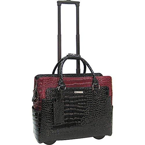 cabrelli-portia-patent-15-laptop-rollerbrief-black-red