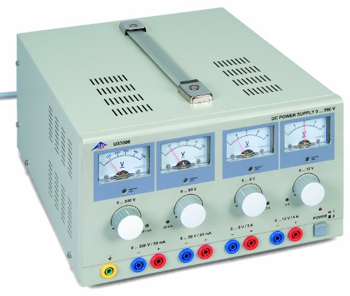 3B Scientific U33000-230 DC Power Supply, 0-500 VDC by 3B Scientific