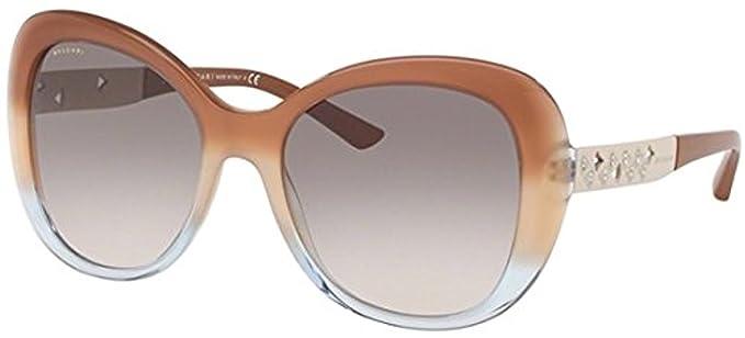 Bvlgari 0Bv8199B 54383B 55, Gafas de Sol para Mujer, Marrón ...