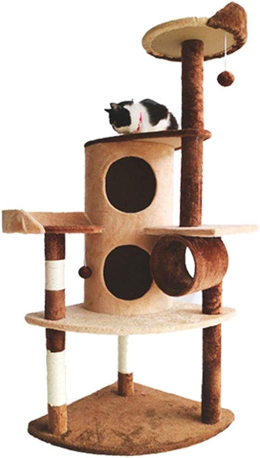 SZGS Cat Tree Tower Condo Furniture - Gato trepador de Gatos Arena ...