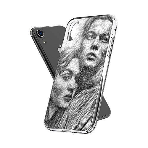 Case Phone Anti-Scratch Cover Motion Picture Titanic is A 1997 Production Scenario That was Epic Ro Movies (6.5-inch Diagonal Compatible with iPhone Xs Max)