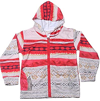 Wocau Girls Princess Moana Lightweight Long Sleeves Jackets Coats