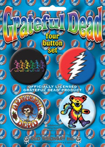 Licenses Products Grateful Dead-Skeleton Assorted Artworks 1.5